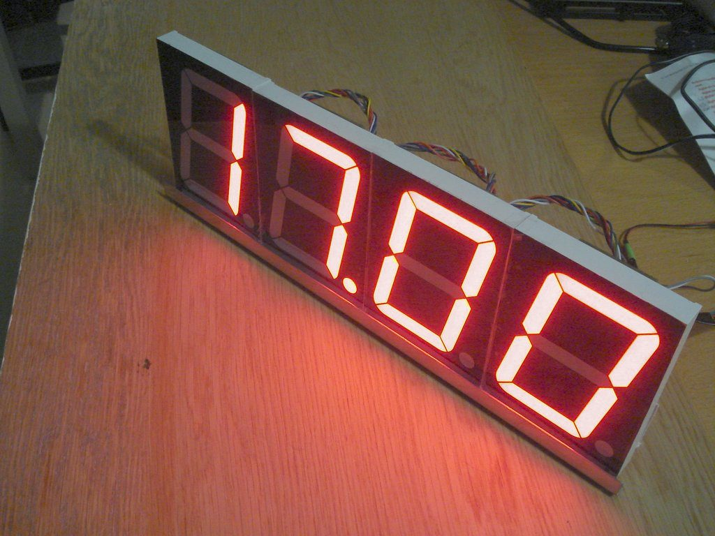 Multipurpose 7 Segment Display System Part 2 Juvars Seven Led And Shows It
